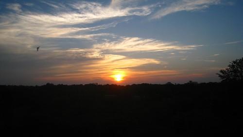 Sunset over Kruger Park