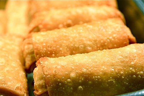 Egg Rolls Chinese Food Macro 12-6-08 2