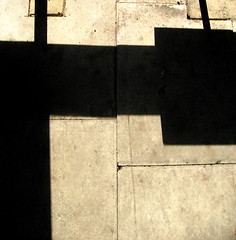 16 tons lurking (DREASAN) Tags: shadow abstract london texture lines wall geometry camden highcontrast structure minimal montypython rectangles 16tons concreteslabs dreasanpics ©dreasanavb