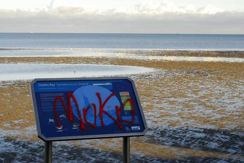 vandalism in sandymount
