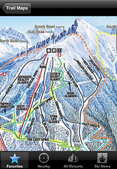 Ski Lodge (for iPhone) - Trail Maps