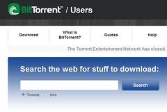 Pesquisa da BitTorrent.com