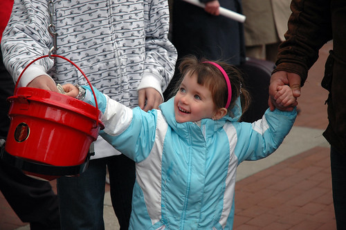 Even the smallest donors made it possible for The Salvation Army to reach its goal.
