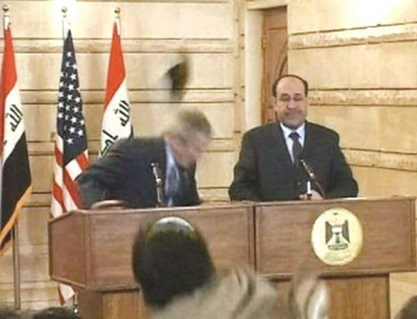 Bush's farewell gift from the Iraqi people