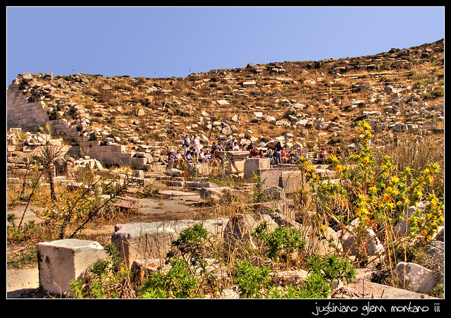 Ruins of the Theater of Delos