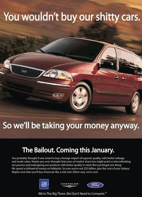 Big Three Bailout