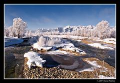 Split Decision (James Neeley) Tags: winter landscape bravo frost wyoming hdr jacksonhole grandtetonnationalpark gtnp 5xp mywinners jamesneeley grosventreriver