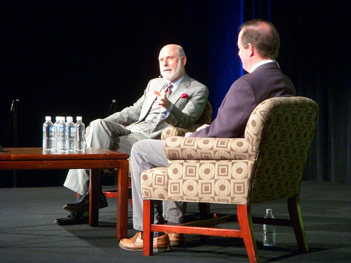Vint Cerf & Chris Sherman at SMX Keynote