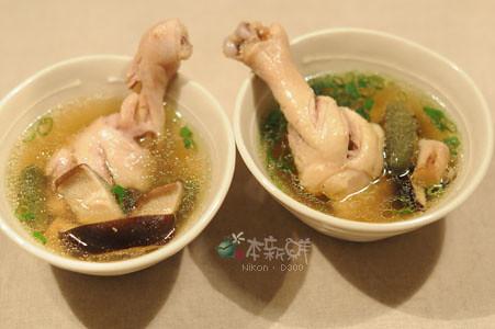 珍珠瓜香菇雞湯