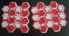 montagem da bolsa (FERNANDA * FRAMBOEZA*) Tags: origami artesanal fuxico bags chic bolsas pap poavermelho