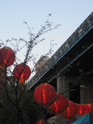 Lanterns in Dumbo