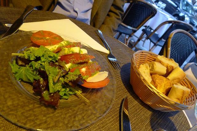 Appetizers at Paris Cafe