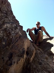 josh rock climbing