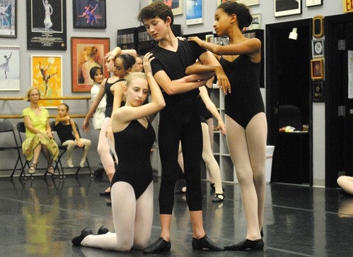 Louisiana Dance Theater, Maisey Brocato, Collin Cochran, Alex Crevoiserat, Shreveport by trudeau