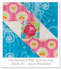 Farmer's Wife Quilt-a-Long - Block 1