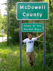 McDowell County, Home of the Rocket Boys