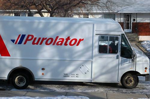 53. The Purolator Truck