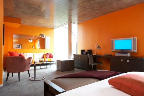 Modern Orange Interior Design Idea