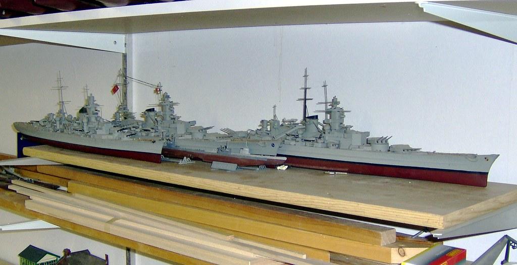 Heller Scharnhorst Gneisenau PrinzEugen v1