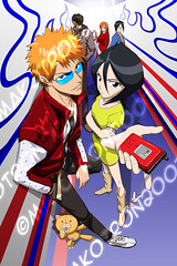 Bleach_by_Makotron (lordismyrock21 - Alex - PFCSparkster) Tags: anime chad bleach rukia sado ichigo kon inoue kenpachi renji toshiro shinigami rangiku zanpaktou gotei
