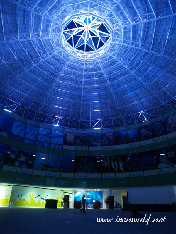 Oceanarium entrance dome of Manila Ocean Park