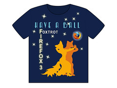 Fleet-footed Foxes Foxtrot Firefox 3 for Fun; or, Under the Mozilla Moon T-shirt (faith goble) Tags: art silhouette illustration digital advertising logo graphicdesign firefox artist photographer dancing bluegrass drawing kentucky ky faith contest tshirt ballroom poet writer illustrator deco tee vector foxtrot adobeillustrator ff3 bowlinggreenky goble firefox3 bowllinggreen faithgoble grafixer ccbyfaithgoble gographix faithgobleart