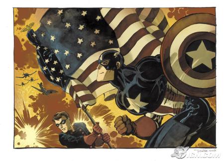 Capitán America: Blanco