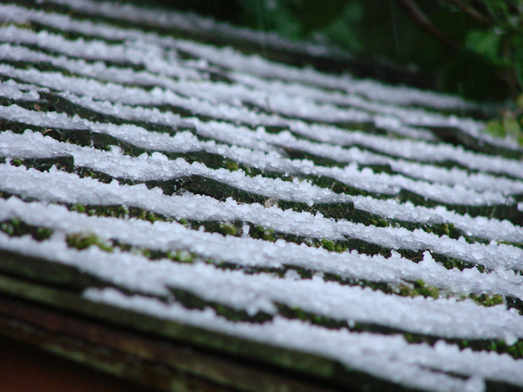 Hail on Shed