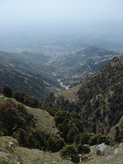 view from triund hike
