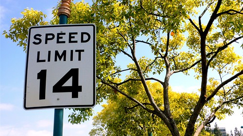 Speed Limit 14 MPH on Flickr