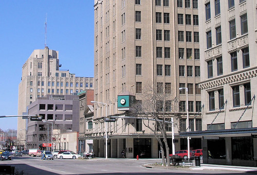 Downtown Lincoln on 13th Street