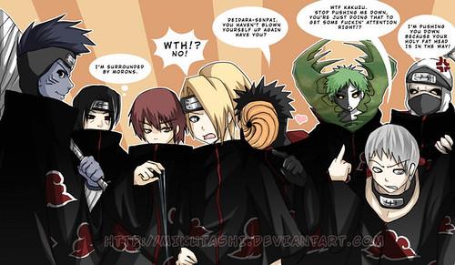 akatsuki funny comics. Naruto - Akatsuki Photo