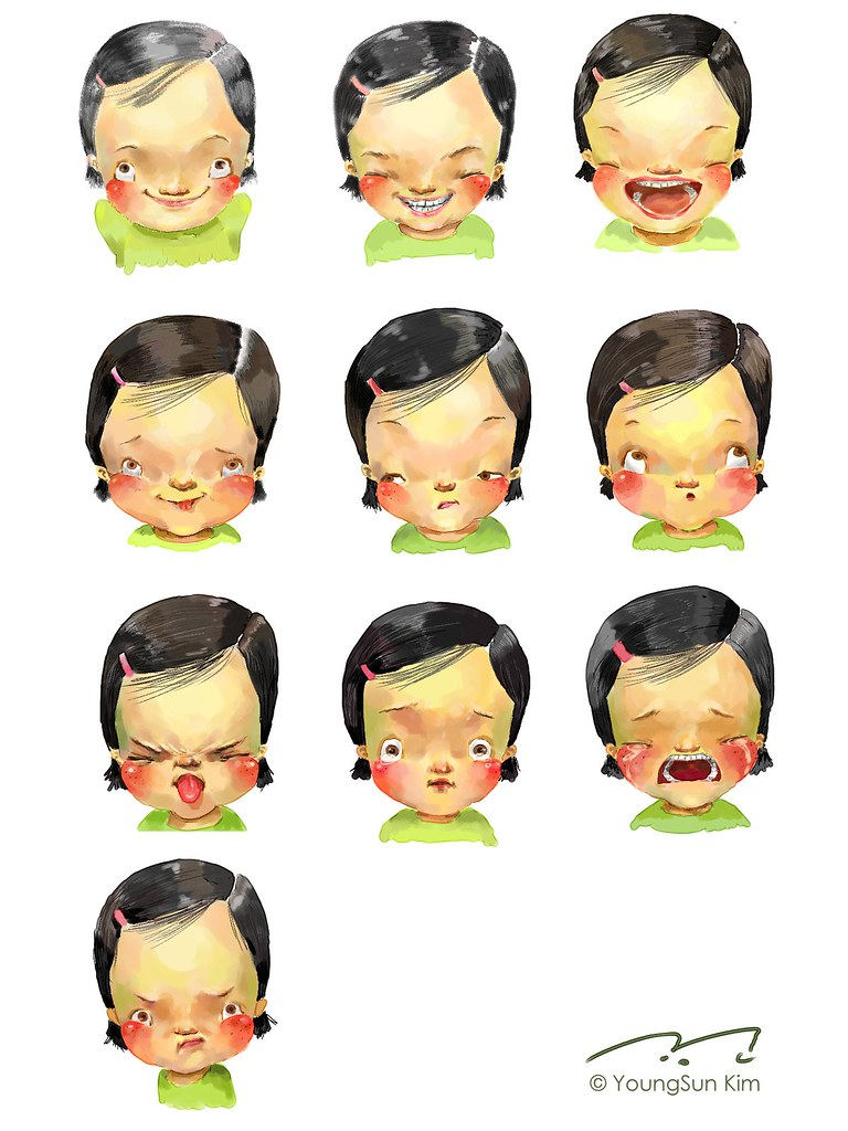 Face Expression Study