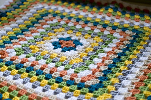 free crochet pattern afghan for baby boy