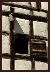 Fachwerk-Ausguck (PirAnja314) Tags: germany flickr unesco monastery 2008 treffen kloster halftimbered worldheritage weltkulturerbe fachwerk maulbronn