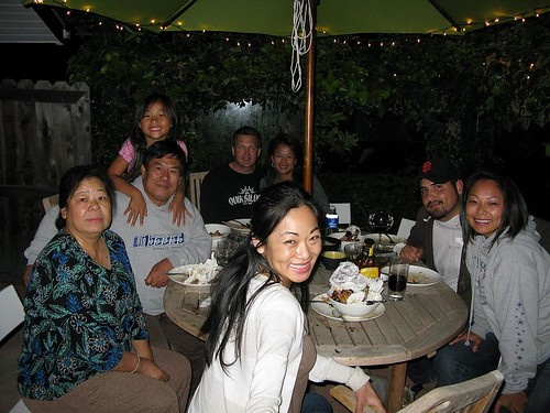 patio dinner