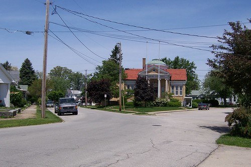 Michigan Road and former City Hall