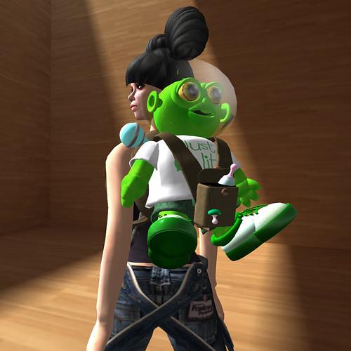 Freebie Backpack by Greenies02