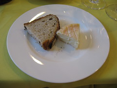 Pierre Hermé: Bread and muenster cheese
