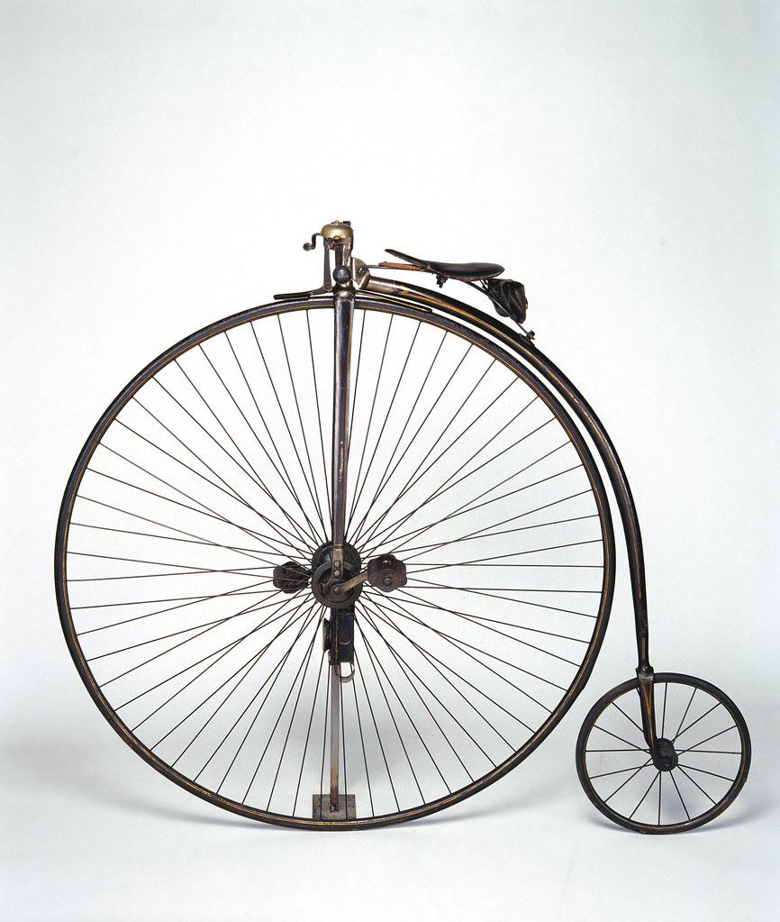 Biker Tribes: The Windsor ordinary bicycle, c.1878.