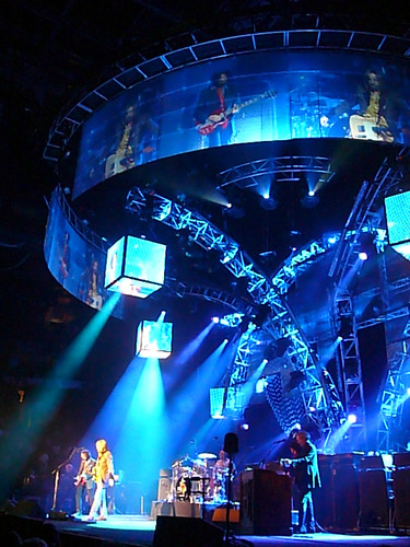 Tom Petty Stage Set Up 2008 Concert Tour