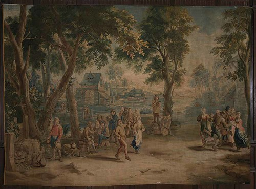 Tapestry made in Brussels during the mid-18th century