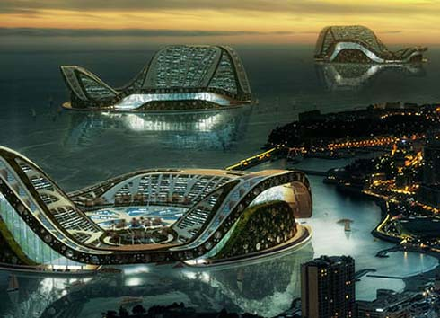 2570505838 8755eff917 Future Architecture : Floating Ecopolis for Climate Refugees