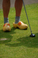 DSC_0006 (David Delisio Photography) Tags: holland germany golf wooden shoes funny woo rollinghills comical woodenshoes baumholder