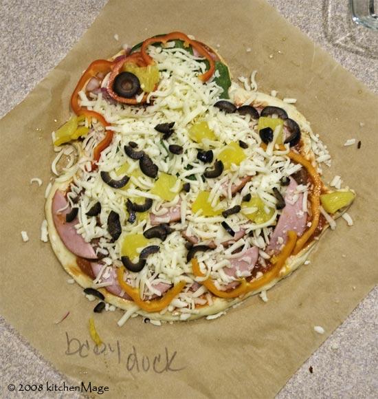 babyduck pizza