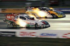 16,000 Horsepower (Jersey JJ) Tags: auto ford club john tim mac nikon force great tools mustang castrol brand source aaa etown englishtown nhra d300 destinations johnforce wilkerson greatdestinations