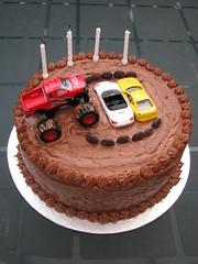 Monster truck cake (aljaycee) Tags: cake monstertruck