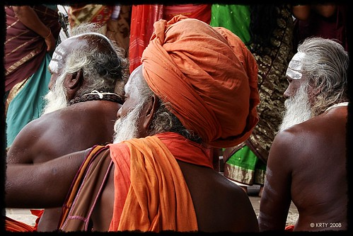 Outside Kanchanoor Temple - Kumbakonam, TN. India