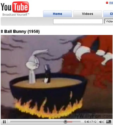Bugs Bunny in A Pot