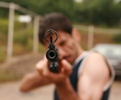Back Off Headstrong! (Aryobarzan) Tags: boy youth iran freeze iranian handsup backoff bangbang aryo sigma1770mm canoneos400d youthhood aryobarzan